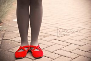 red shoes by the silence by ArtRats