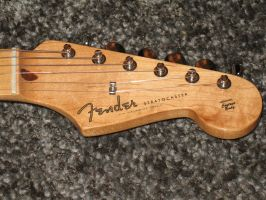 Fender Stratocaster 50's Head by Law-Concept