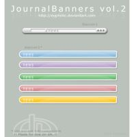 JournalBanners vol.2 by eupholic