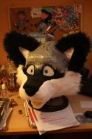 Another WIP Fursuit Head by Alinchen-Tenny