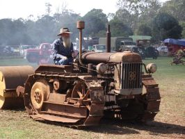 Fordson Major Crawler tractor by RedtailFox