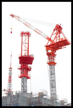 Construction in Red by miharashi