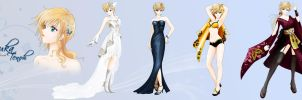 Miss Universe Pageant - Haruka by WindSeaBlood