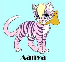 Aanya the Kitty by BrittneyR