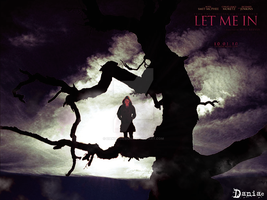 let me in unofficial poster II by daniacdesign