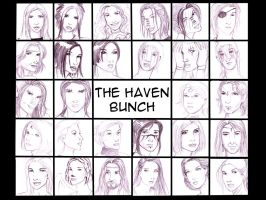 The Haven Bunch by SparrowsHellcat