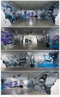Exhibition BENEATH by KIWIE-FAT-MONSTER