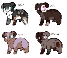 Puppy Adopts -Prices lowered- by MelonAdopts