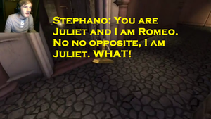 Pewdiepie and Stepahno- Romeo and Juliet by arashidaisuki