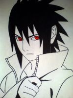 Sasuke by black-wolf-92