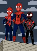 Spider-family by KirstyEmma