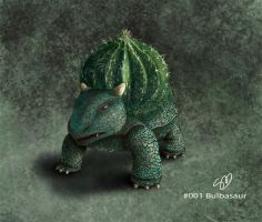 realistic Pokemon Bulbasaur by Learningasidraw