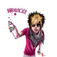 Seven from Brokencyde by bloodydex