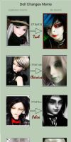 Doll Changes Meme by Harlequin-Elle