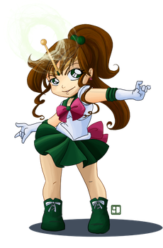 Sailor Jupiter by chanimated