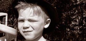 Child With Hat by Dom410