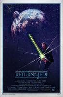 RETURN OF THE JEDI Poster by Alistair-Rhythm