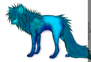 Water Wolf Adoptable by Harry-Potter-Addict