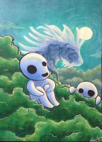 Kodama Night by HandDrawnViolist
