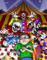 Clowns by HarryBuddhaPalm