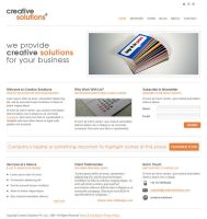 Creative Solutions Template by rjoshicool