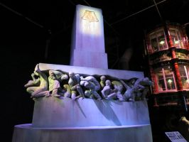 ministry of magic statue dark arts. by Sceptre63