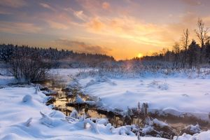 Winter Scenery by DeingeL