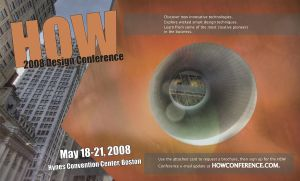 HOW 2008 Design Conference AD by drew22mader