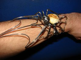 Spider Bracelet by Erddil