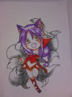 10 Ahri (league of legends chibi) by Kail-the-akuma