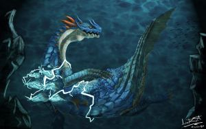 Lagiacrus by Teal-Lorca