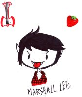 Marshall Lee : The vampire king by Pocket-rebelion