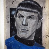 Mr. Spock by Mark-Duffy