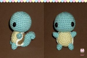 Amigurumi - Chibi Squirtle by PurringCakes
