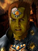 Arnold Vosloo as Ganondorf by mattleese87