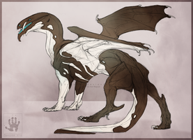 Pied dragon by DemonML