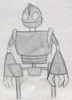 The Iron Giant by PuccaFanGirl