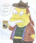 Comic Book Guy as Linkara by SithVampireMaster27
