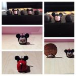 Mickey Mouse Tsum Tsum Charm (Update/Remake) by Storm-Grey