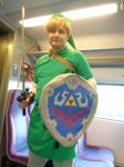 Link costume by woodywoodwood