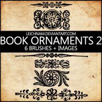 Book Ornaments Brushes 2 by Leichnam
