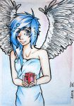 Xmas Card #2 BLUE by 1idiz