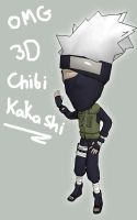 OMG 3d CHIBI KAKASHI by Rockman-Invincible