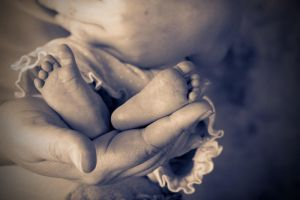 baby feet by SJGPhotography