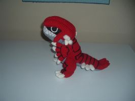 Groudon Pokemon Amigurumi by Nanettew9