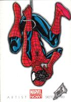 SPIDERMAN MARVEL NOW! Sketch card by JASONS21