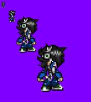 Francis Sprite in another form by NSMBXomega