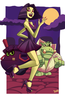 Gruntilda Game Over by ChicaG