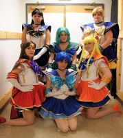 Shiney Senshi by Yunie-chan