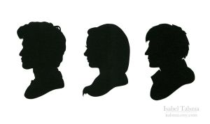 Doctor Who Silhouettes by fit51391